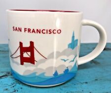 Starbucks San Francisco 2013 You Are Here Collection Coffee Mug 14oz.