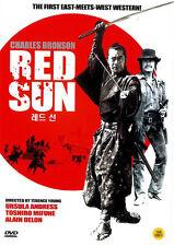 RED SUN (1971) New Sealed DVD Charles Bronson