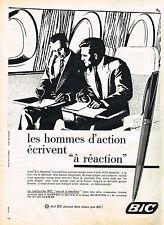 PUBLICITE ADVERTISING 014   1960   BIC  stylo à réaction 2