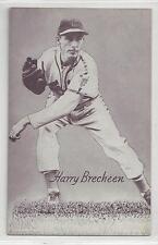 Harry Brecheen-Cardinals 1947-63 Ml Baseball Trading Exhibit Card