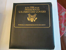 (80)1988 PRESIDENTS FIRST DAY ISSUE COVERS  - NICE - TUB RR