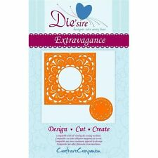 die'sire from crafters companion - create a card - extravagance