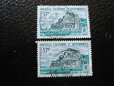 NOUVELLE CALEDONIE timbre yt n° 336 x2 obl (A4) stamp new caledonia (A)