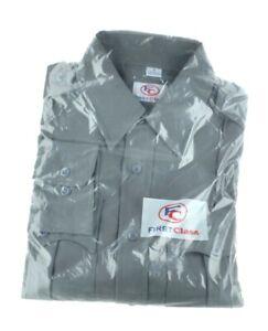 100% Polyester Two Tone Long Sleeve Uniform Shirt