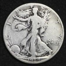 ** 1929-S Walking Liberty Silver Half Dollar FREE SHIPPING!