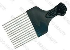 Afro Pik Metal Pins  Fist Comb Untangle