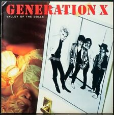 Generation X 'Valley of The Dolls' 1979 Near Mint Never played Promo Punk Lp