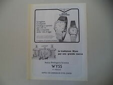 advertising Pubblicità 1981 LONGINES CONQUEST OROLOGIO