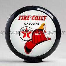 "Gas Pump Globe Texaco Fire Chief 13.5"" w/ Black Plastic Body (G195)"
