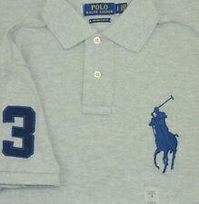 "Polo Ralph Lauren Para hombres Calce Personalizado Big Pony & NO.3 Camisa Polo Tamaño Pequeño UK36"""