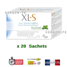 1 Boîte XLS Cure Tisane Laxative Amincissante Maigrir The Menthe Transit Detox
