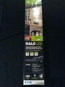 18'' Halo LED Adjustable Magnetic Pucks Undercabinet Plug-In Kit