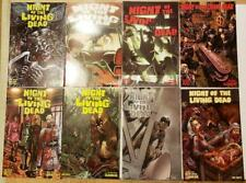 NIGHT OF THE LIVING DEAD 1 - 5 SET HORROR ZOMBIE COMICS RUSSO ANNUAL X2 LIMITED