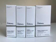 The Ordinary Niacinamide10%, AHA30% peel solution, Vc, caffeine 30ML New Authent