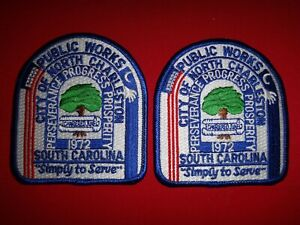 2 City Of North Charleston South Carolina PUBLIC WORKS Patches