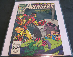 Vintage - The Avengers #326 Captain America Thor Sersi Vision + Marvel Comics