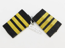1960s Vintage Pan American First Officer Epaulettes / Airline Pilot Uniform