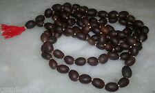 Lotus Seed Mala Holy Kamalgatta JapaMala 108+1 Beads Yoga Meditation Necklace