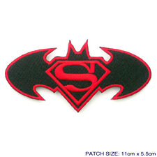 BATMAN v SUPERMAN #2 New Movie Logo Embroidered Iron-On Logo Patch - NEW - #5D14