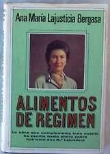 ALIMENTOS DE REGIMEN - ANA MARÍA LAJUSTICIA BERGASA - PLAZA & JANES 1980 - VER