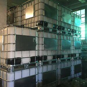 275 gallon IBC tote water storage container tank