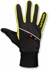 Mens Unisex Nathan SpeedShift Running Gloves Size S USB Lightwave LED Tech $50