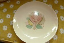 Vintage Susie Cooper pink Patricia Rose pottery cake plate signature stamp