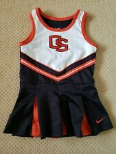NWOT NIKE 2 PCS Oregon State University Beavers Girls Cheerleader outfit Size 3T