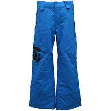 DC KIDS DONON Snow Pant Childrens S Small 8 Lapis Blue Ski Snowboard Waterproof