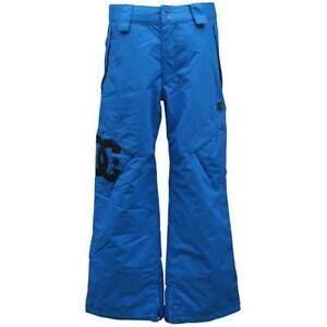 DC KIDS DONON Snow Pants Childrens M Medium 10 Lapis Blue Ski Snow Waterproof