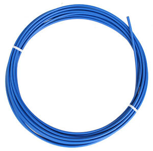 BLUE SIS BICYCLE BIKE SHIFT SHIFTER GEAR CABLE HOUSING 12 FOOT ROLL 4mm