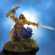 Painted Reaper BONES Miniature Warrior in Golden Armor