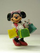 Minnie Mouse Collectible Shopping Figure 2 x 2 Heavy Plastic Pink Bow High Heels