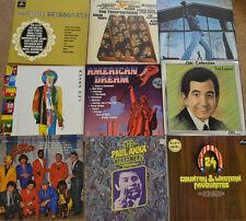 "LP PAQUET - LEO SAYER - JOEL DARTS - PAUL ANKA - LOPEZ - 9 LP`S 12"" (W 894)"