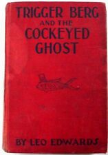 RARE Cockeyed Ghost Trigger Berg Leo Edwards 4 glossy illustrations HARD TO FIND