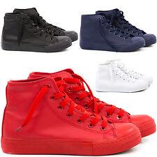 Scarpe Uomo Sneakers Pelle PU Casual Francesine Mocassini Ginnastica Comode T18