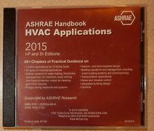 2015 Ashrae Handbook Cd Sealed Hvac Applications