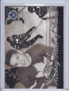 Max Bentley 2002 Maple Leafs Platinum Collection Hockey Card 43 Grade NMMT