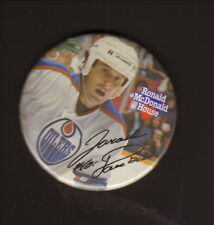 Jaroslav Pouzar--Edmonton Oilers--1983-84 Ronald McDonald House Pin