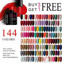 144 Color Nail Gel Polish Soak Off UV/LED Glitter Base Top Coat Varnish UK Stock