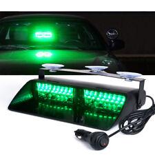 Xprite 16 LED Windshield Emergency Hazard Warning Strobe Light - Green