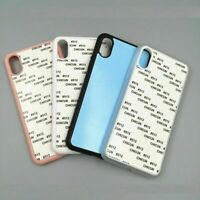 10pcs 2D Blank Sublimation Phone Case For 11 Pro Max XS Max XR 5 6s 7 8 Plus X