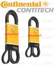 Set of 2 Continental Belts Water Pump Alt Power Str & Air Conditioning BMW