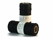 Hemptique 20lb 1mm Black Hemp Cord - 1 spool