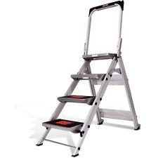 Little Giant Ladder System Safety Step Ladder - 4-Step  10410BA