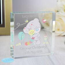 Me to you personnalisé grand cristal jeton pour babys memento-tiny tatty teddy