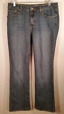 US POLO ASSOCIATION WOMENS blue stonewashed JEANS SIZE 8  32 x 33