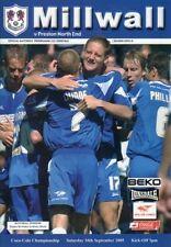 Preston North End Home Teams O-R Football Programmes