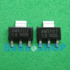 20pcs AMS1117-1.8 LM1117 AMS1117 1.8V 1A Voltage Regulator SOT-223