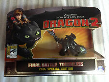 SDCC 2014 How To Train Your Dragon 2 Final Battle Toothless Exclusive  RARE SOLD